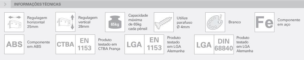 APARENTE - 806 COM BUCHA